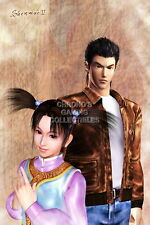 122269 Shenmue II Ryo and Fangmei Sega DreamCast Decor LAMINATED POSTER CA