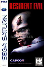 123864 Resident Evil Original Sega Saturn Decor LAMINATED POSTER CA