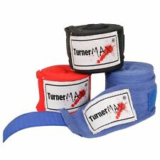TurnerMAX Boxing Boxer Hand Wraps Bandages Straps Wrap Training Protection MMA