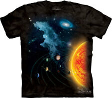 NEW SOLAR SYSTEM Planets Saturn Jupiter Mars The Mountain T Shirt Adullt Sizes