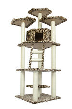 "76"" CAT TREE CONDO FURNITURE SCRATCHPOST PET HOUSE 5128"
