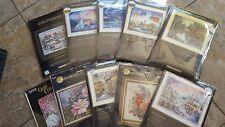 DIMENSIONS /BUCILLA/CANDAMAR GOLD COLLECTION CROSS STITCH KITS, NEW, AWESOME