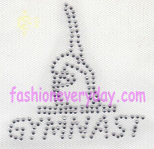Rhinestone Iron On Transfer Hot fix gymnastics