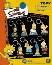 8 NEW SIMPSONS DIE CUT KEYCHAINS BACKPACK ZIPPER PULLS