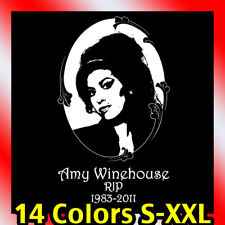 new Amy Winehouse RIP t-shirt tribute tee back to rehab