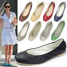 Anna Kastle Shoes New Womens Cute Snub-Toe Elastic Ballet Flat Shoes US 5 6 7 8