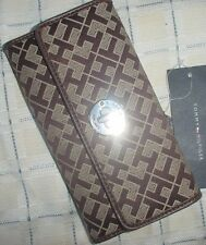 Tommy Hilfiger Womens Checkbook Clutch Purse Wallet New NWT Upick Color MSRP $39