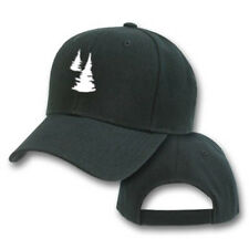FUR TREE PINE PLANT EMBROIDERED EMBROIDERY BASEBALL ADJUSTABLE HAT CAP