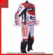 Honda Repsol Gas Racing Leather Motorcycle full suit Jacket trouser- All Sizes