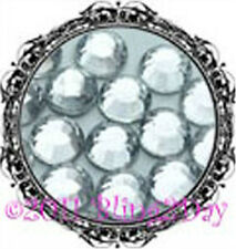 720 of 3MM CLEAR Crystal Rhinestones Iron on Hot Fix 5 gross - 10ss ss10