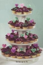 cake or cupcake stands ROUND,SQUARE, SCALLOPED,STAGGERED 2,3,4 tier Dessert Tree