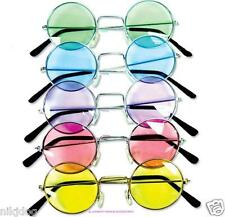 John Lennon Sunglasses Round Hippie Shades Retro Colored Lenses Free Shipping