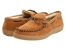 L.B. Evans Men's Moccasin Slipper HideAway Morgan Tan FREE SHIPPING
