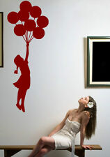 Banksy Graffiti  Girl With Balloon' amazing wall stickers vinyl decal decor NEW