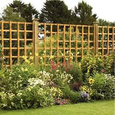 6' x 4' LARGE SQUARE TRELLIS PANEL FENCE PRESSURE TREATED WOODEN TIMBER FENCING