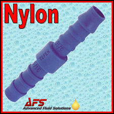 STRAIGHT Barbed NYLON Hose Joiner InLine Connector Fuel Air Silicone Rubber Pipe