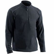 EDZ Cool Climate Light Thermal Mid Layer Microfleece Zip Neck Shirt Top Mens