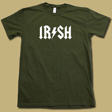 "COOL ""IRISH"" Super-Soft Graphic Tee • 80's St. Patrick's Day AC/DC PARTY T-SHIRT"
