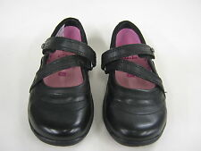 Childrens Clarks Girls Black School Shoes In F and G Fitting. Only £19.99!!!