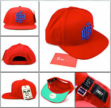 Authentic Obey - The Monogram Snapback Hat - Red