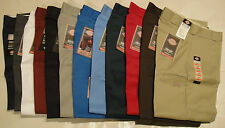 DICKIES Mens 85283 Double Knee Work Pants 28 30 31 32 33 34 36 NWT