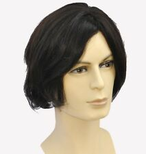 100% Real Human Hair MAN Men s full wig wigs hairpiece toupee,Artist Temperament