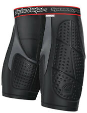 NEW TROY LEE DESIGNS 5605 MOTOCROSS PROTECTION SHORTS BLACK BLK ALL SIZES