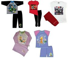Official One Direction / The Wanted / Tinkerbell / Ben 10 Girls Boys Pyjamas