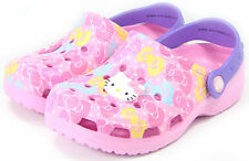 Hello Kitty NEW Runa Sandals Kids Shoes for Girls Clogs Summer Cheap Slippers