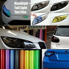 Headlight + Tail light Tinting Film - 10 Colours - All sizes - Professional Film