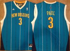 Chris Paul New Orleans Hornets Mens Jersey Blue Replica Revolution 30 NWT