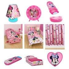 Disney Minnie Mouse Bedding & Bedroom Accessories (Free P+P)