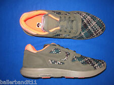Mens Nike Lunar Flow Woven QS shoes sneakers new 526636 207 olive bamboo