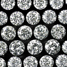 VS ~ 1.3mm - 1.7mm ~ Full Cut Round ~ Loose Natural Untreated ~ G-White Diamonds