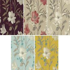GRANDECO ROYAL HOUSE LUXURY ELISE FLORAL 10M WALLPAPER ROLL BLOSSOM FLOWERS
