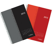 A5 COLLINS 2013 SKETCH WEEK TO VIEW DIARY WIREBOUND CHOOSE YOUR COLOUR LB853