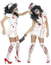 HALLOWEEN FANCY DRESS COSTUME ZOMBIE NURSE UNIFORM FDDD