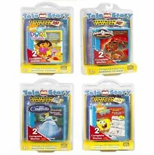CHILDRENS READING TELESTORY BOOK TV LEARNING GAME CONSOLE CARTRIDGE DISC DISK