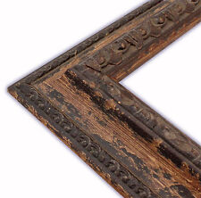 Genoa Aged Brown Picture Frame-Solid Wood