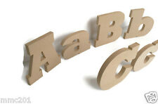 Freestanding / Hanging MDF Wooden Alphabet Letters & Numbers