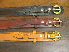"1 1/2"" WIDE AMISH HAND MADE RANGER BELTS"