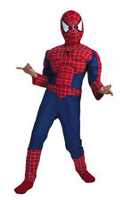 MARVEL SPIDERMAN 2 Muscle Childs Super Hero Halloween Costume Dress Up