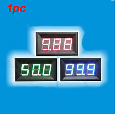 LED Amp Panel Meter 3Bit Display No Need Shunt Digital Ammeter DC0-10A Ampere
