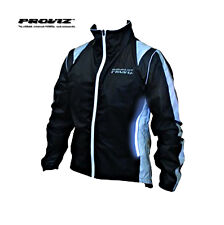 Proviz Luminescent Waterproof Cycling Jacket With Light Strips All Sizes Black