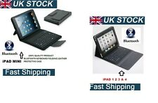 BEST ACCESSORIES APPLE iPAD LEATHER CASE AND WIRELESS BLUETOOTH KEYBOARD FREE PP