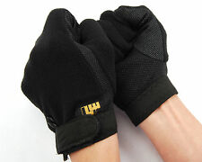 Airsoft Non-Slip Protective Bicycle Full-finger Glove + Adjustable Strap S-XL B