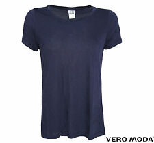 VERO MODA DAMEN SHIRT, TOP OBERTEIL JOY SS TOP NOOS DARK NAVY GR XS, S, M, L, XL