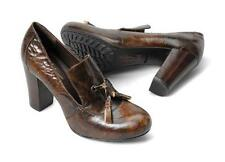 Born Women's Kylin Genuine Leather  W/ Tassel Tan Brush Off N01037 Size 6.5