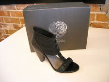 Vince Camuto CARLA Black Strappy Leather Studded Sandal NEW