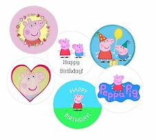 Cake Pop Decorating - Mini Edible Cake Toppers - Pepa Pig!